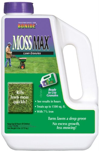 Bonide (BND60725 - MossMax Lawn Granules, Outdoor Lawn Moss Killer (6 lb.)