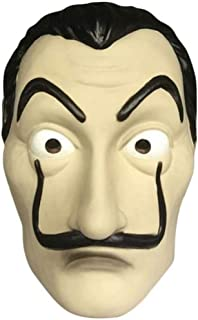 Halloween Mask Realistic Novelty Costume Party Mask Latex Face Mask Off White