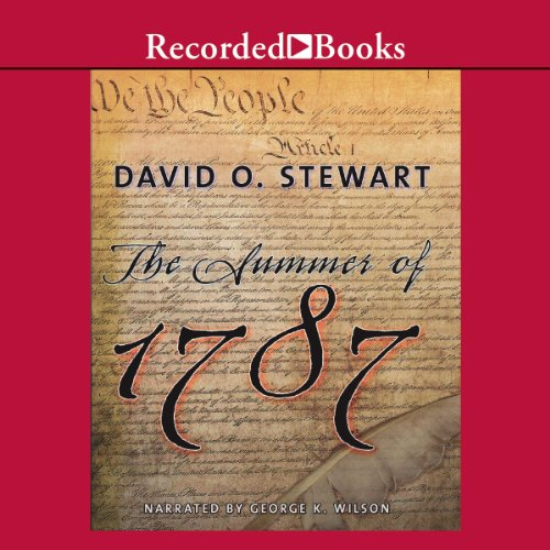The Summer of 1787 audiobook cover art