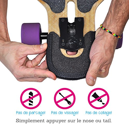 Hellmet Noseguards für Longboards - Kantenschutz - Guards - Der perfekte Schutz für dein Deck (8-10 mm)