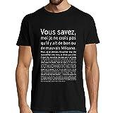 Photo de Mécanicien - Mécano | T-Shirt Bon ou Mauvais | Astérix et Obélix Mission Cléopâtre | T-Shirt col Rond Métier Humour 3XL
