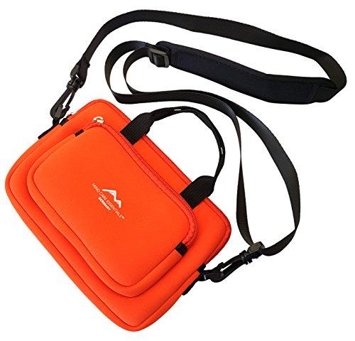Reise-Tasche Reiseapotheke   Neopren   ROT   Medikamenten-Tasche   Erste Hilfe First Aid   Taschenapotheke   tragbar leer   Medizintasche   Kulturtasche Aufbewahrung   Outdoor   MIND CARE ESSENTIALS