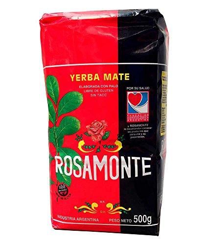 Yerba Mate marca Rosamonte