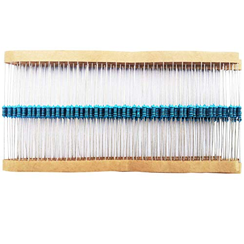 200pcs 330 ohm Resistors 1/4w ±1% Metal Film Single Fixed Resistor, Multiple Values of Resistance Optional