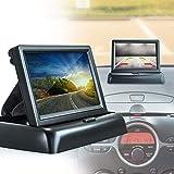Auto Snap Car 4.3 inch Rear View Full HD Foldable Dashboard Screen