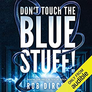 Don't Touch the Blue Stuff! audiobook cover art