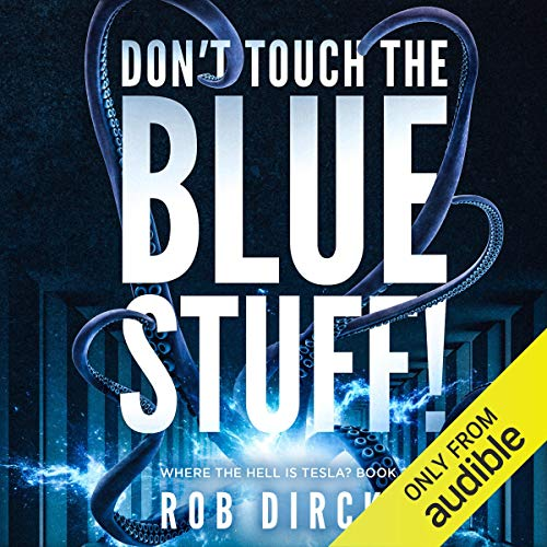 Don't Touch the Blue Stuff! Titelbild