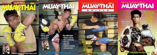 Muay Thai Master Saekson - 4 DVD Set