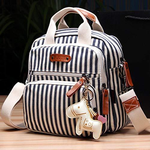 YSNBB Umhängetasche/Laptoptasche/Aktentasche Arbeitstasche/Premium Herrentasche/Schultertasche/Kuriertasche/Messenger Bag Art Und Weisedamenhandtasche (26 * 16 * 26Cm) Schwarzweiss