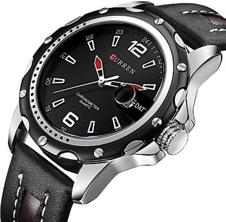 New Curren Brand Men Sport Watches Men's Quartz Date Clock Male Casual Leather Strap Wrist Watch relogio Masculino reloj Hombre