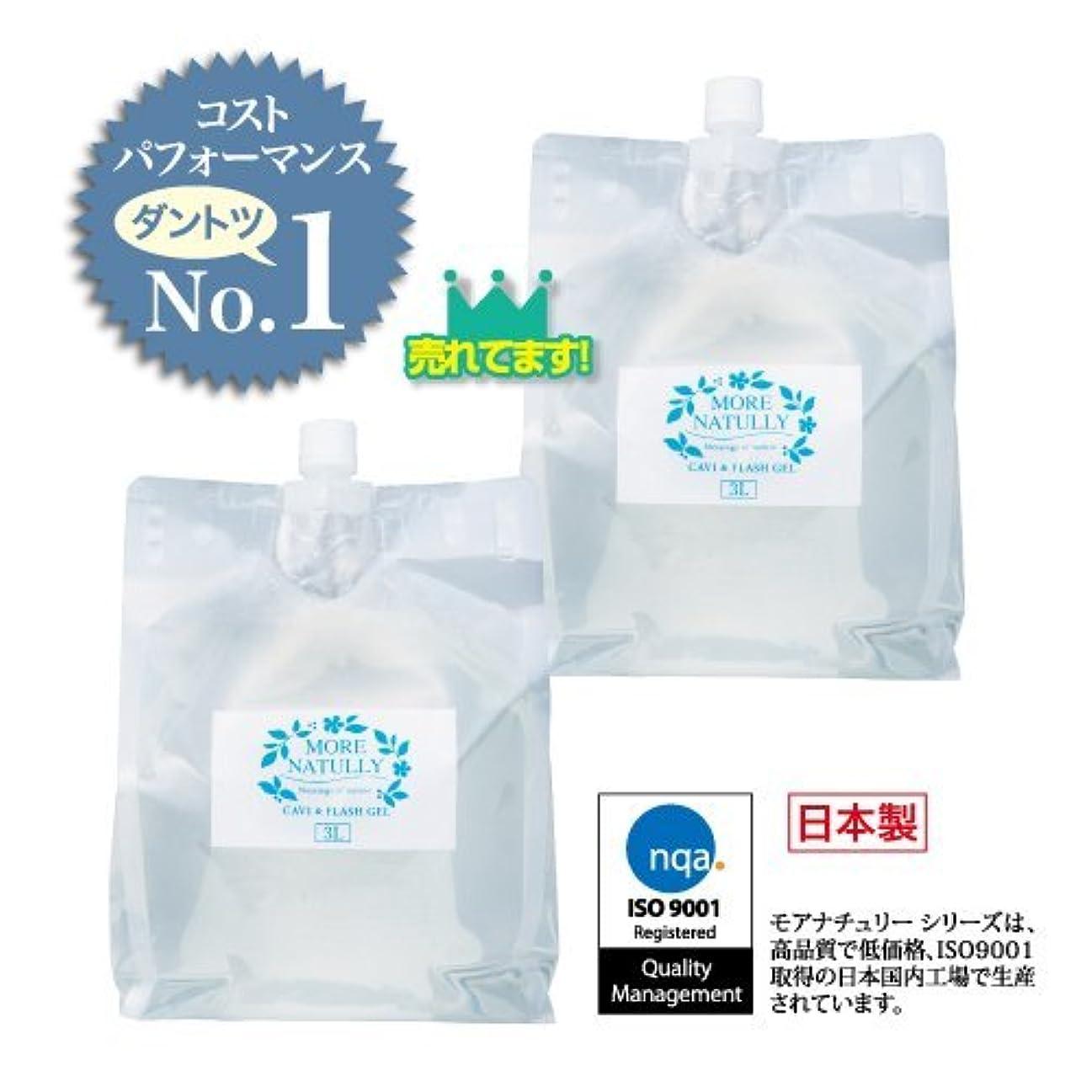 リアル取る促すモアナチュリー キャビ&フラッシュジェル 【ソフト】3kg×2袋