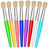 Paint Brushes for Kids, 8Pcs Easy to Grip & Clean Toddler Paint Brushes - No...