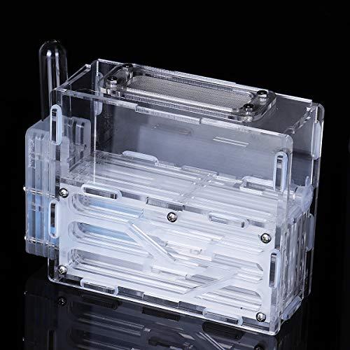 Masun 3D-Ameisenfarm, Labyrinth Erde Nest Formicarium Gehäuse DIY Ameise Bauernhaus Display Box für Ameisenkolonie