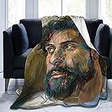ZEMIOF Oscar Isaac Fleece Blanket Throw Blanket Lightweight Super Soft Cozy Luxury Bed Blanket Microfiber