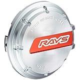 【RAYS(レイズ)】 センターキャップセット グラムライツ レッド/シルバー 4個セット GRCAP-RDSL4