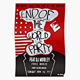 Amelius Party Mr Robot World The End Poster of,