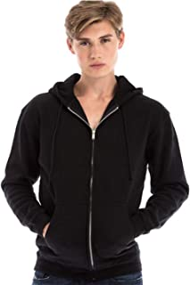 SpectraUSA Unisex Zipper Fleece Hoodie Comfy for Men and Women