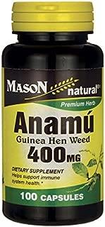 Mason Vitamins Anamu 400 Milligram, 100 Capsules