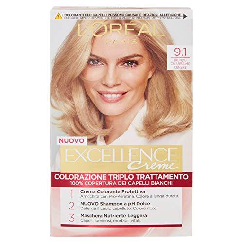 EXCELLANCE N.9,1 biondo chiaris.cenere - Colorants pour cheveux