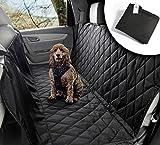 Auto Hundedecke für Rückbank oder Kofferraum | Wasserabweisend, waschbar, rutschfest und in universal Größe | Für große und kleine Hunde auf dem Autositz | Autoschondecke