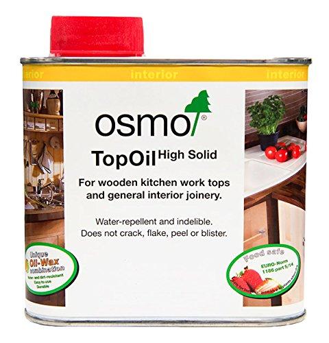 OSMO 3028 0,5 Liter Top Öl - Transparent Satin