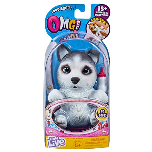 Little Live Pets 28919 OMG - Casquillos para Mascotas, Color Negro