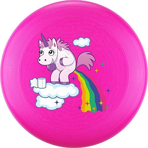 Eurodisc 175g 4.0 Ultimate Bio-Kunststoff Frisbee Unicorn Clouds Pink