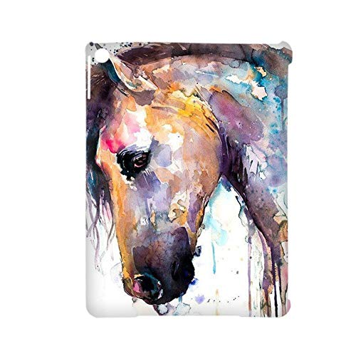 Gogh Yeah Printing Watercolor 1 Abs Case Child Use As Apple Ipad Air 2 Anti-Knock