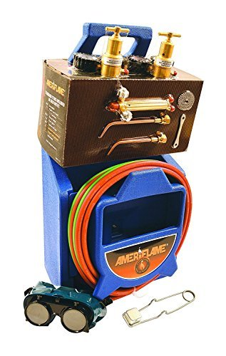 Ameriflame T100A Medium Duty Portable Welding/Brazing Outfit with Plastic Carrying Stand