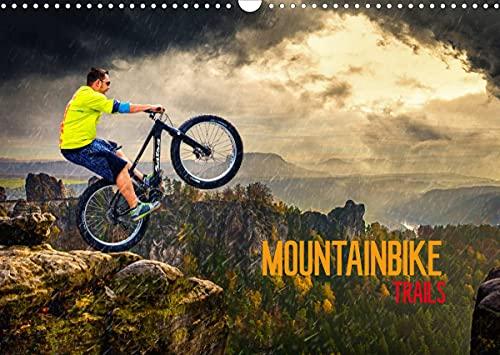 Mountainbike Trails (Wandkalender 2022 DIN A3 quer)