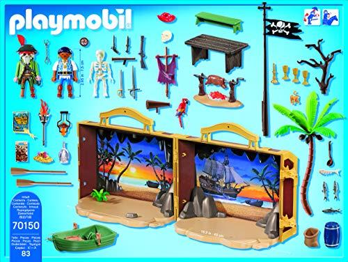 Playmobil - Pirates Juego con Figuras, Multicolor (701500)
