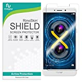 RinoGear Huawei Honor 6X Screen Protector Case Friendly Screen Protector for Huawei Honor 6X Accessory Full Coverage Clear Film
