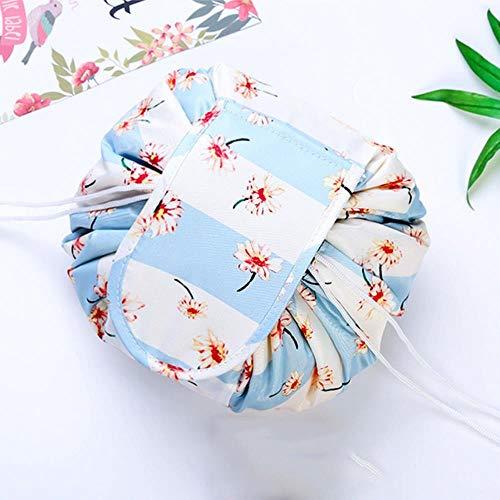 BVYO Toiletry Beauty Kit Box Mujeres Drawstring Travel Cosmetic Bag Makeup Bag Organizer Make Cosmetic Bag Case Storage Pouch, Margarita