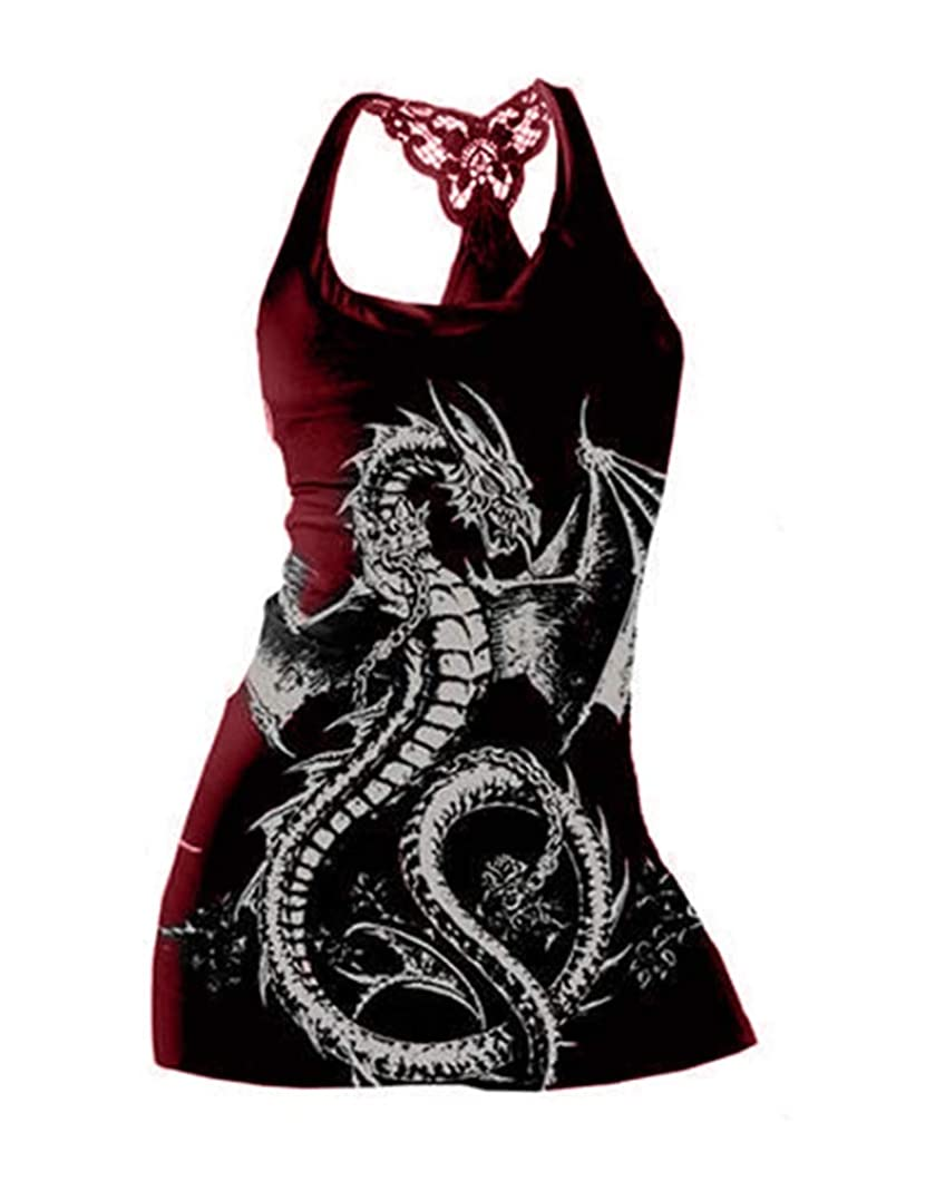 Qianshan Maomo Womens Graphic Tees Summer Casual Sleeveless Tank Tops Lace Racerback Novelty Tunic Tops and Shirts erfajta90