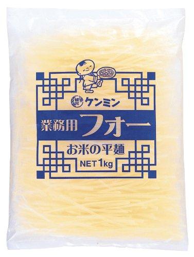 ケンミン食品 ケンミン 業務用フォーお米の平麺 1Kg [0713]