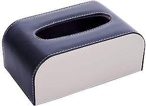 XBSXP 1 Pc boîte à mouchoirs Rangement Serviette Organisateur Serviettes faciales Distributeur comptoirs Chambre décoration