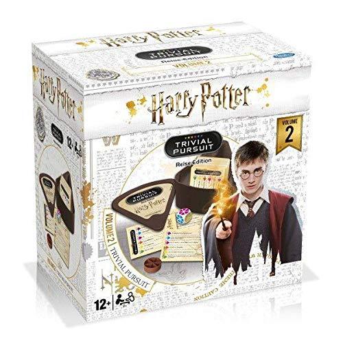 Winning Moves WIN11880 TRIVIAL Pursuit Harry Potter BS Vol. 2 mit 600 neuen Fragen und Antworten aus der Filmreihe Zubehör, Mehrfarbig