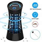Qomolo Mosquito Killer Lamp, Electric Fly Bug Zapper UV Light Insect Killer Trap Lamp Chemical-Free Non-Toxic...