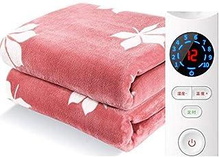 DHFUIH Manta calefactada eléctrica Grande, colchón Calefactor Incorporado Sistema avanzado de protección contra sobrecalentamiento Mantas de Cama Suaves y cómodas Mantas de Cama