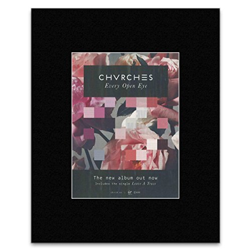 Unbekannt Chvrches Mini-Poster, Album: Every Open Eye Includes Leave A Trace, 28 x 21 cm
