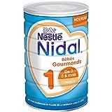 Nestlé Nidal 1 Bébés Gourmands - Lait...
