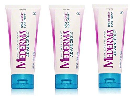Mederma Advanced Scar Gel, 50 Grams, Pack of 3