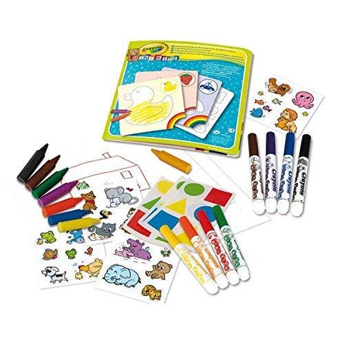 Crayola 10570 - Mi Primer Set De Colorear con Pegatinas