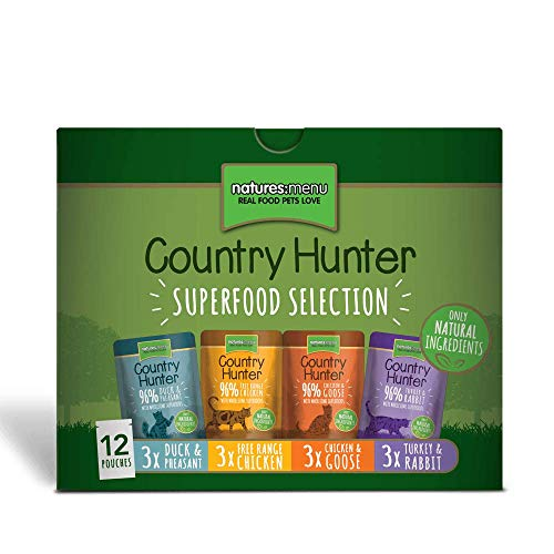 naturesmenu 723085/4217 Country Hunter Cat Multipack | 12 x 85g Katzenfutter nass