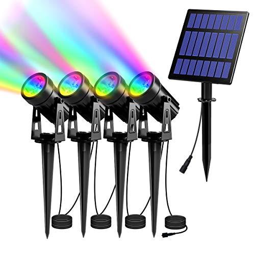 Faretto a energia solare. 4h Rgb