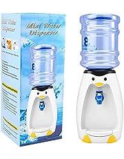 2.5L Mini Leuke Penguin Water Dispenser met Water Emmer Drink 8 Glazen Water voor Home Office Student Dorm Kids Present