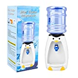 2.5L Mini Cute Penguin Water Dispenser with Water Bucket Drink 8 Glasses of