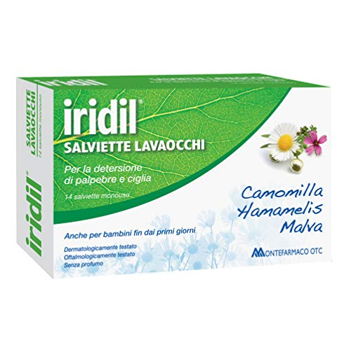 Iridil Lavaocchi 14 Toallitas monodosis