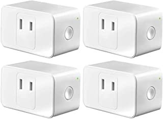 小さくてコンパクト [Amazon Alexa certified smart plug]メロスWiFi ..