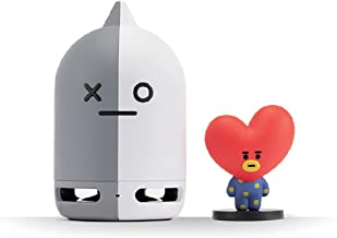 BT21 Official BTS Friends Duo Bluetooth Stereo Portable Speaker & Figure Set for Home, Outdoors, Travel (Speaker Van + Figure TATA)